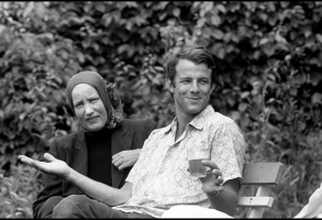 """Little"" Edie Beale and Peter Beard"