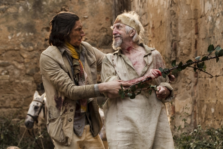 """""""The Man Who Killed Don Quixote"""" Adam Driver"""