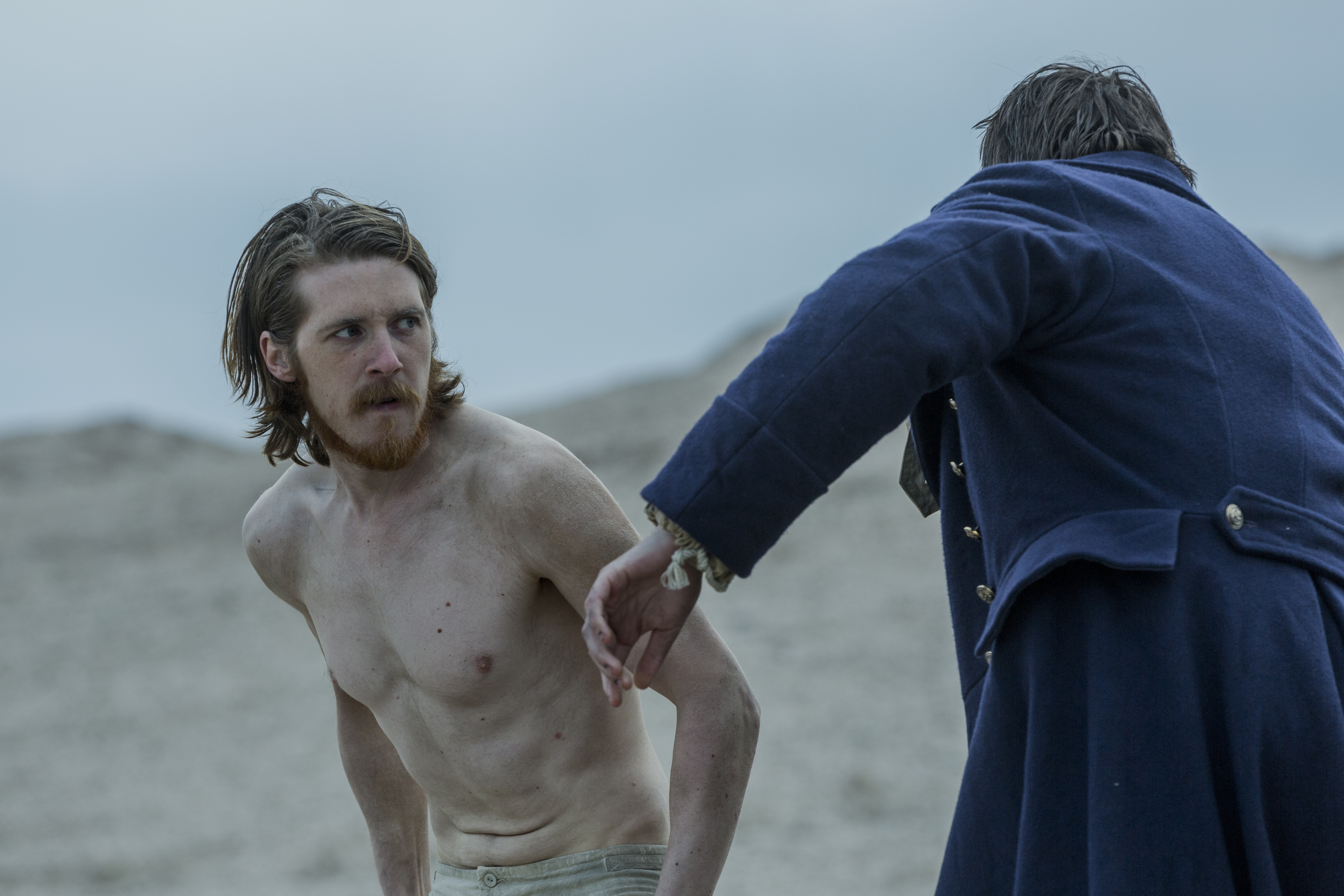 Adam Nagaitis as Cornelius Hickey, Ronan Raftery as Lt. John Irving - The Terror _ Season 1, Episode 7 - Photo Credit: Aidan Monaghan/AMC