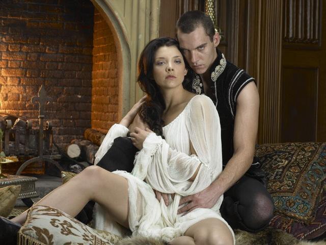 """Natalie Dormer and Jonathan Rhys Meyers, """"The Tudors"""""""