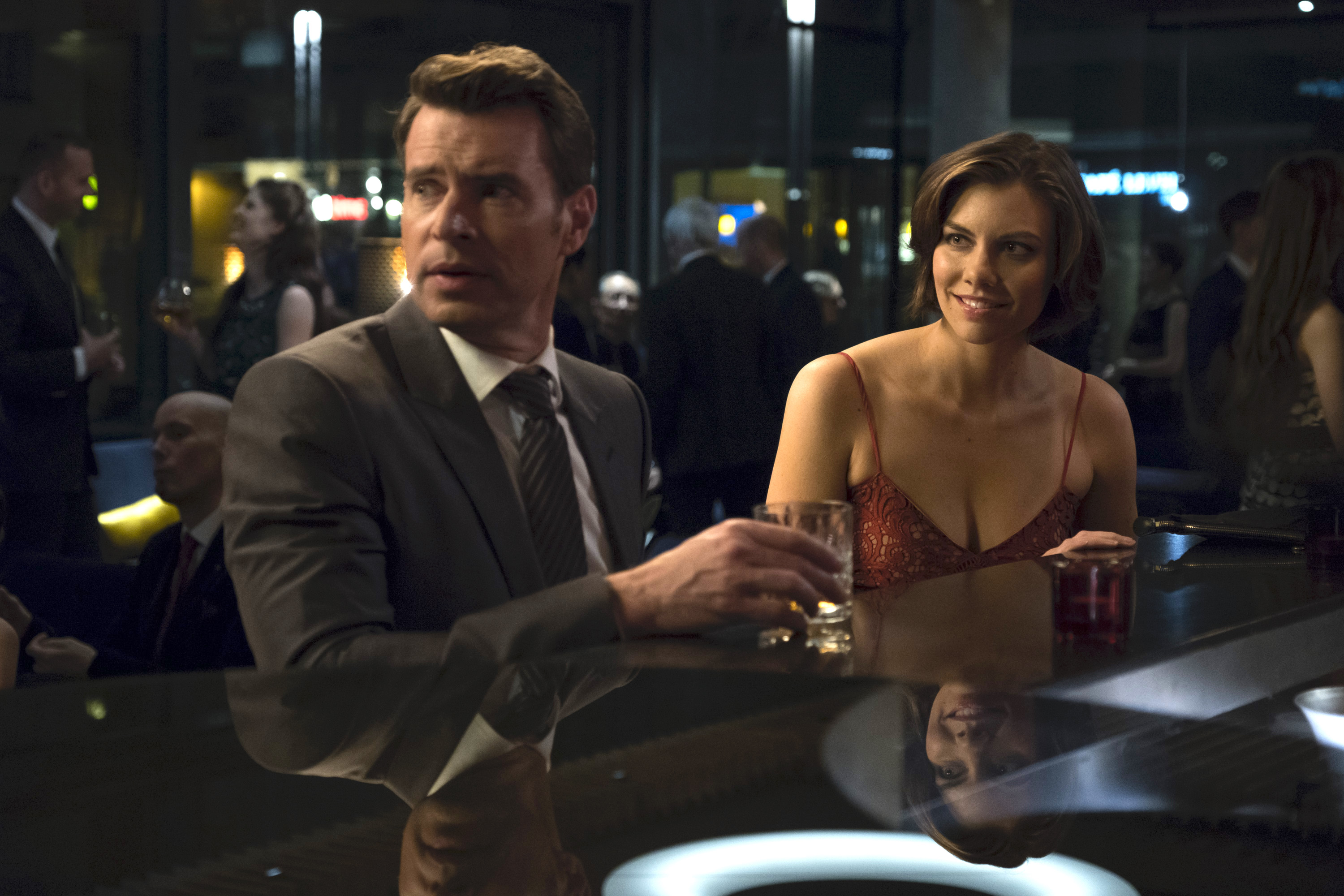 "Scott Foley and Lauren Cohan, ""Whiskey Cavalier"""
