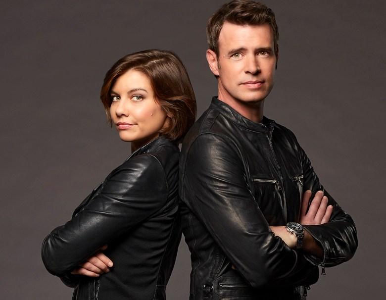 "WHISKEY CAVALIER - ABC's ""Whiskey Cavalier "" stars Lauren Cohan as Francesca ""Frankie"" Trowbridge, and Scott Foley as Will Chase. (ABC/Craig Sjodin)"