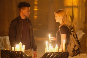 MARVEL'S CLOAK & DAGGER - ÒMarvelÕs Cloak & DaggerÓÊis the story of Tandy Bowen (Olivia Holt) and Tyrone Johnson (Aubrey Joseph) - two teenagers from very different backgrounds, who find themselves burdened and awakened to newly acquired superpowers which are mysteriously linked to one another. Tandy can emit light daggers and Tyrone has the ability to engulf others in darkness. They quickly learn they are better together than apart, but their feelings for each other make their already complicated world even more challenging.ÊÊÒMarvelÕs Cloak & DaggerÓ stars Olivia Holt, Aubrey Joseph, Andrea Roth, Gloria Reuben,ÊMiles Mussenden, Carl Lundstedt, Emma Lahana, Jaime Zevallos, and J.D. Evermore.ÊThe series will premiere on Thursday, June 7 (8:00 - 10:00 p.m. EDT/PDT) andÊis co-produced by Marvel Television and ABC Signature Studios. (Freeform/Alfonso Bresciani)AUBREY JOSEPH, OLIVIA HOLT