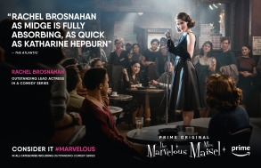 The Marvelous Mrs. Maisel Emmys FYC Ad
