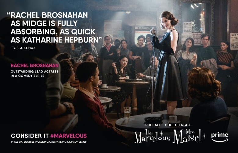 The Marvelous Mrs. Maisel Emmys FYC