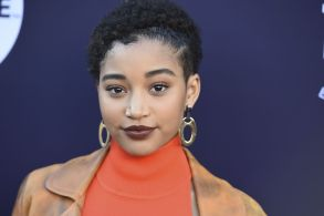 Amandla Stenberg arrives at The Hollywood Reporter's Women in Entertainment Breakfast at Milk Studios, in Los AngelesThe Hollywood Reporter's 2017 Women in Entertainment Breakfast, Los Angeles, USA - 06 Dec 2017