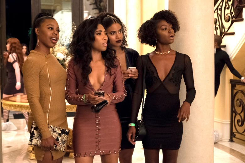 "Gail Bean, Adriyan Rae, Zazie Beetz, and Danielle Deadwyler, ""Atlanta"""