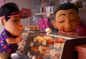 """SWEET ADVENTURE -- In Disney•Pixar's all-new short """"Bao,"""" director Domee Shi explores parenthood, empty-nest syndrome andfood—lots of food.Whenan aging Chinese momcraftsa dumplingthatsprings to life as a lively, giggly dumpling boy, Mom happily jumps at a second chance at motherhood.But Mom's newfound happiness is short-livedwhen her preciousdumpling insists on growing up. """"Bao"""" opens in theaters onJune 15, 2018, in front of """"Incredibles 2."""" ©2018 Disney•Pixar. All Rights Reserved."""