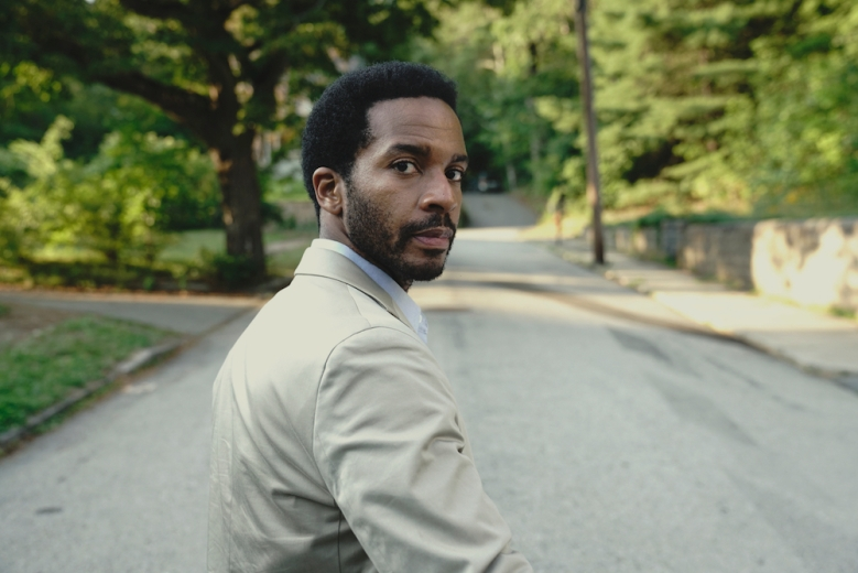 """Castle Rock -- """"Severance"""" -- Episode 101 -- Henry Deaver, a death-row attorney, confronts his dark past when an anonymous call lures him back to his hometown of Castle Rock, Maine. Henry Deaver (Andre Holland), shown. (Photo by: Patrick Harbron/Hulu)"""