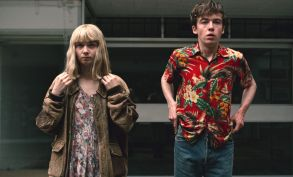 """Jessica Barden and Alex Lawther, """"End of the Fucking World"""""""