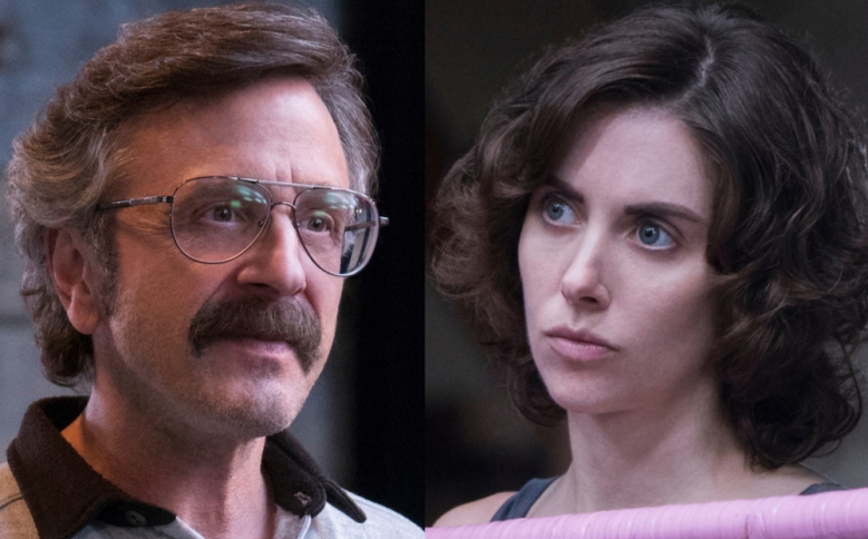 GLOW: Alison Brie and Marc Maron on Ruth and Sam's Romance