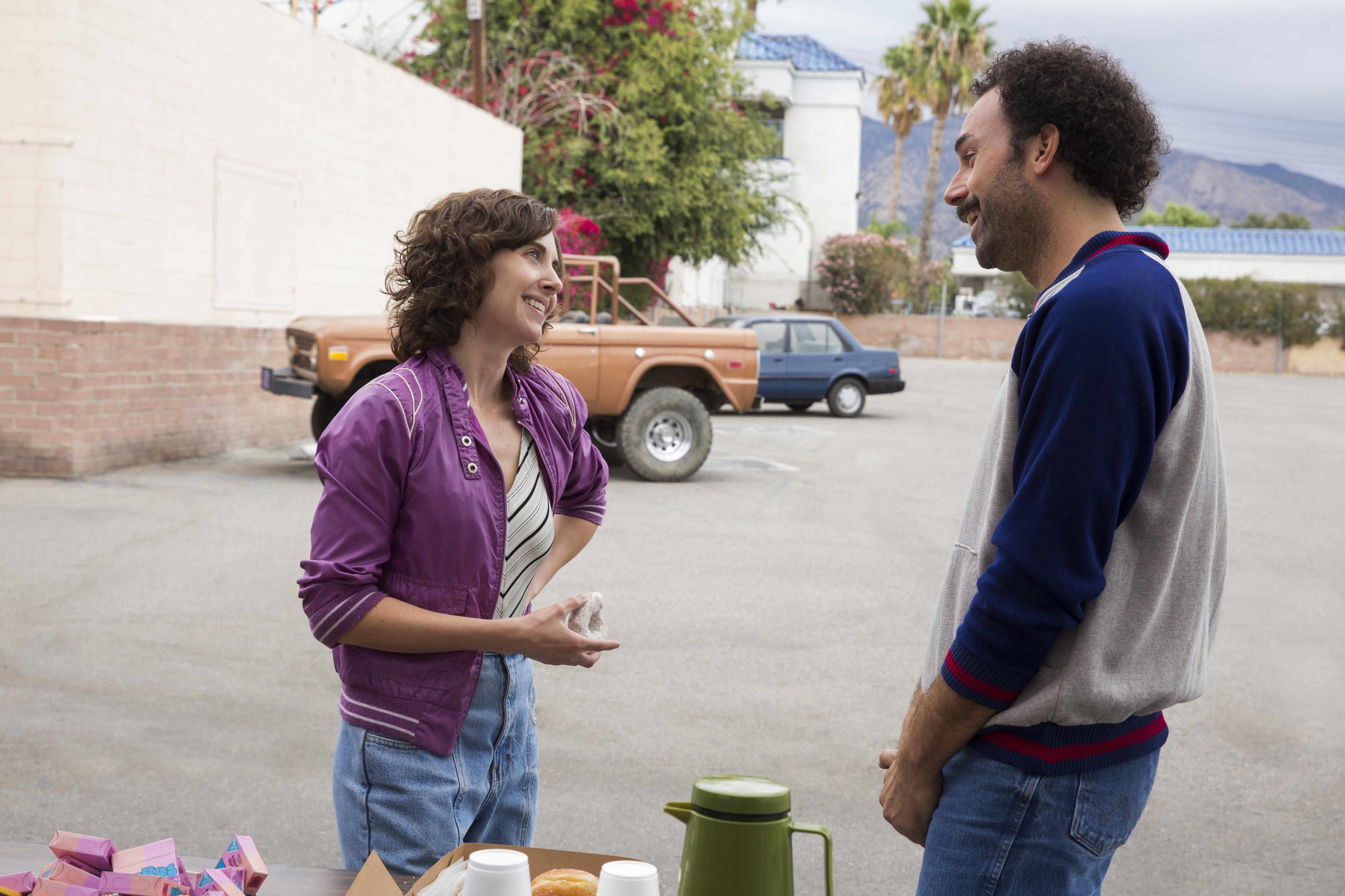 GLOW Season 2 Alison Brie Victor Quinaz