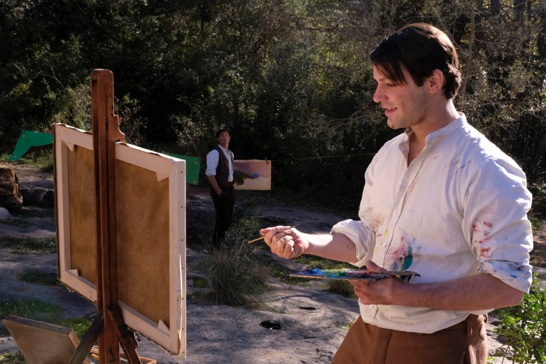 Barcelona, Spain - Alex Rich plays Pablo Picasso in Season 2 of National Geographic's Genius (National Geographic/Dusan Martincek)