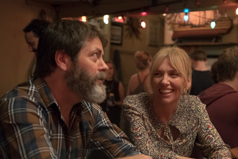 "Nick Offerman and Toni Collette in ""Hearts Beat Loud"""