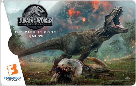Jurassic World: Fallen Kingdom' Giveaway: Win $25 Fandango