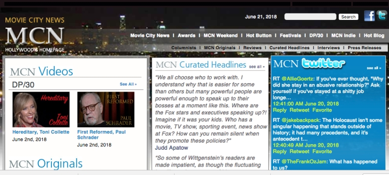 Rip David Poland S Online Trade Movie City News Indiewire