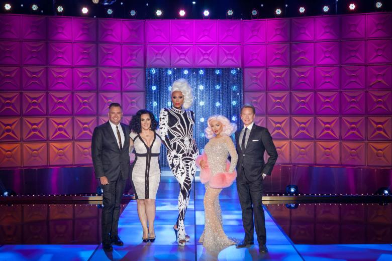 "The judges of ""RuPaul's Drag Race"" Season 10"
