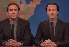 Nicolas Cage Andy Samberg SNL