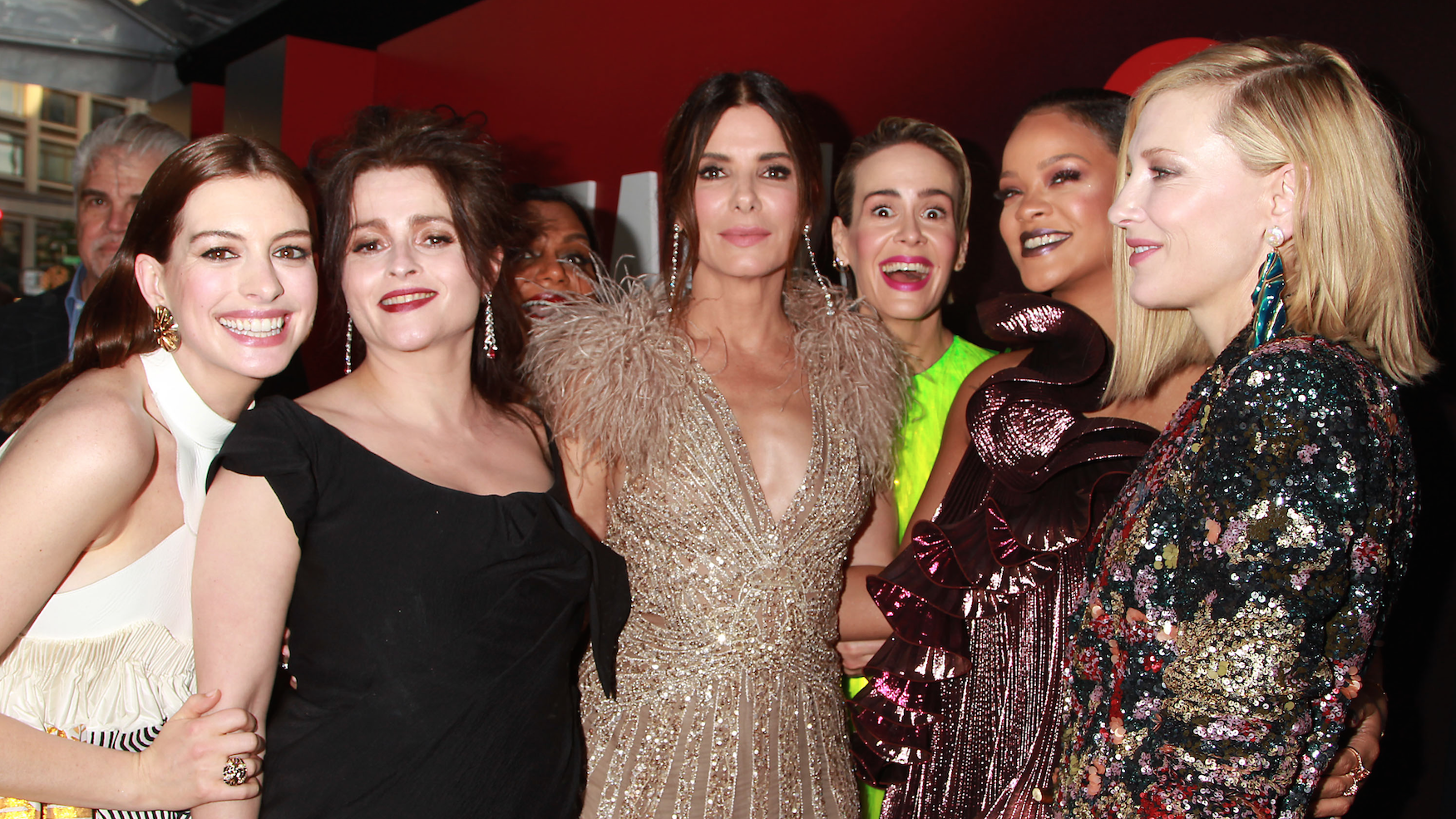 Ocean S 8 Red Carpet Photos Rihanna Cate Blanchett And More Indiewire