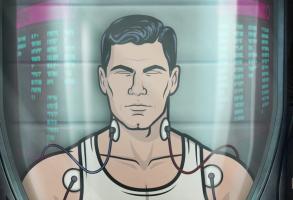 Archer Danger Island finale alien