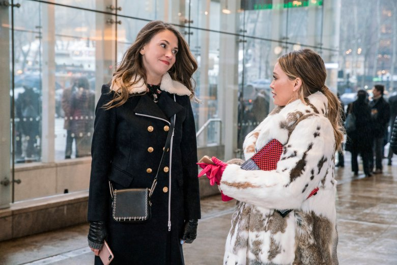 "Sutton Foster and Hilary Duff, ""Younger"""
