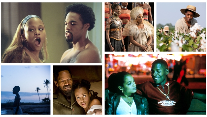 """""""Barbershop,"""" """"Black Panther,"""" """"12 Years a Slave,"""" """"Moonlight,"""" """"Django Unchained,"""" """"Love & Basketball"""""""