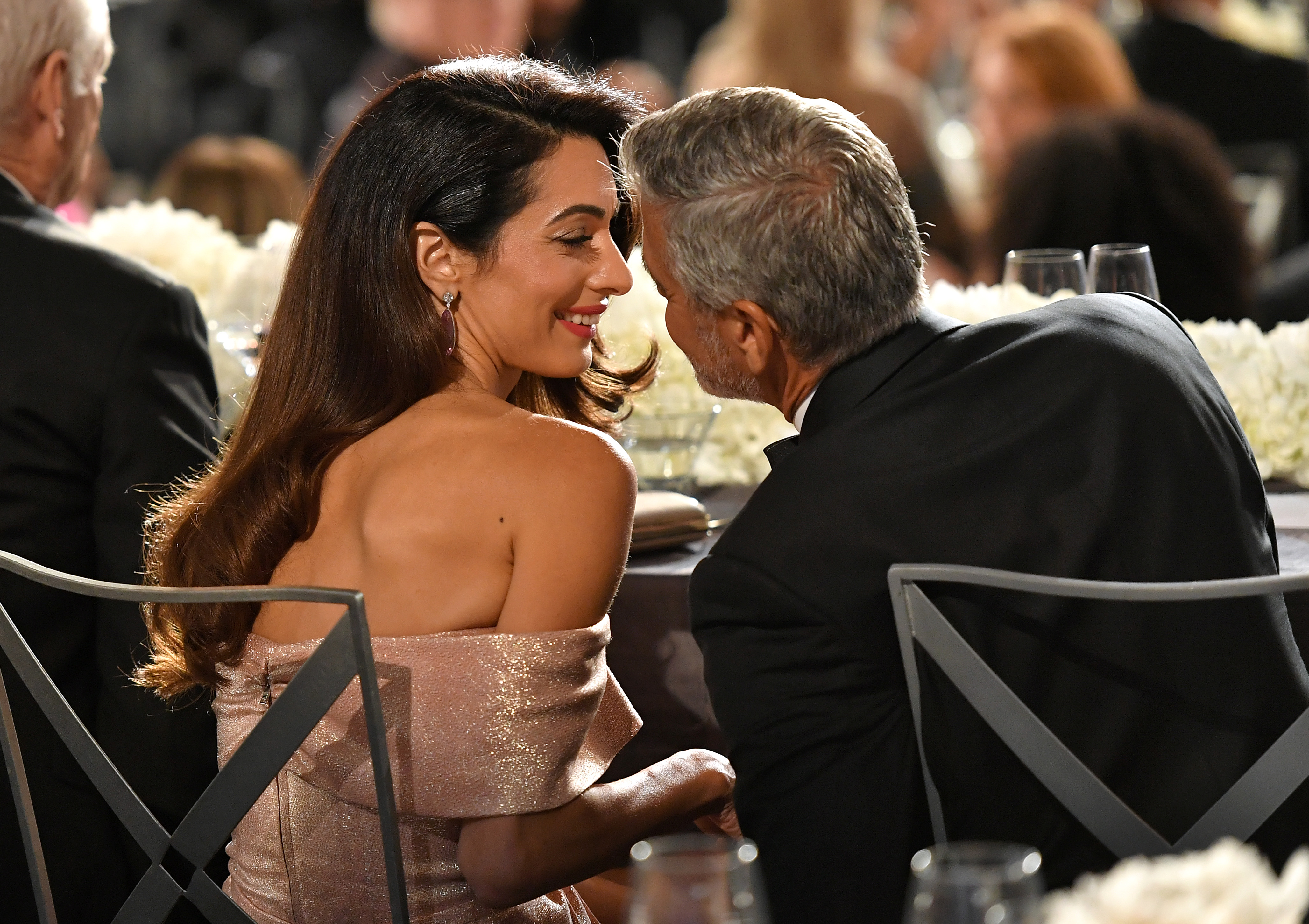 Amal Clooney and George ClooneyAFI Life Achievement Award Gala, Show, Los Angeles, USA - 07 Jun 2018