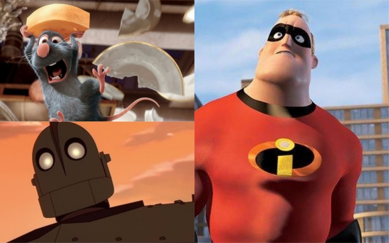 brad bird movies ranked