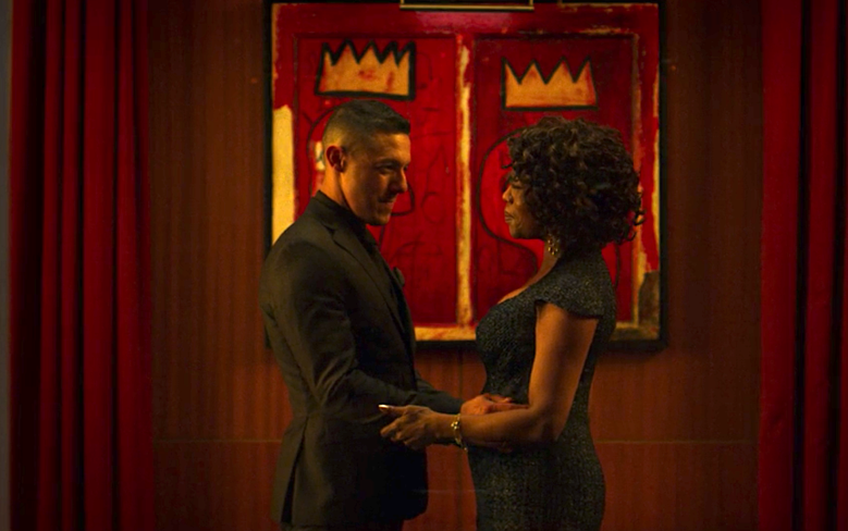 "Theo Rossi and Alfre Woodard, ""Luke Cage"""