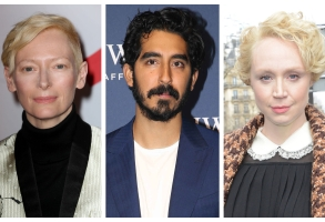 "Tilda Swinton, Dev Patel, and Gwendoline Christie of ""David Copperfield"""