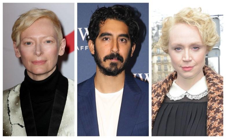 "Tilda Swinton, Dev Patel, and Gwendoline Christie of ""David Copperfield"""