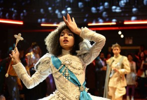 "POSE -- ""Pilot"" -- Season 1, Episode 1 (Airs Sunday, June 3, 9:00 p.m. e/p)  Pictured:  Indya Moore as Angel. CR: JoJo Whilden/FX"