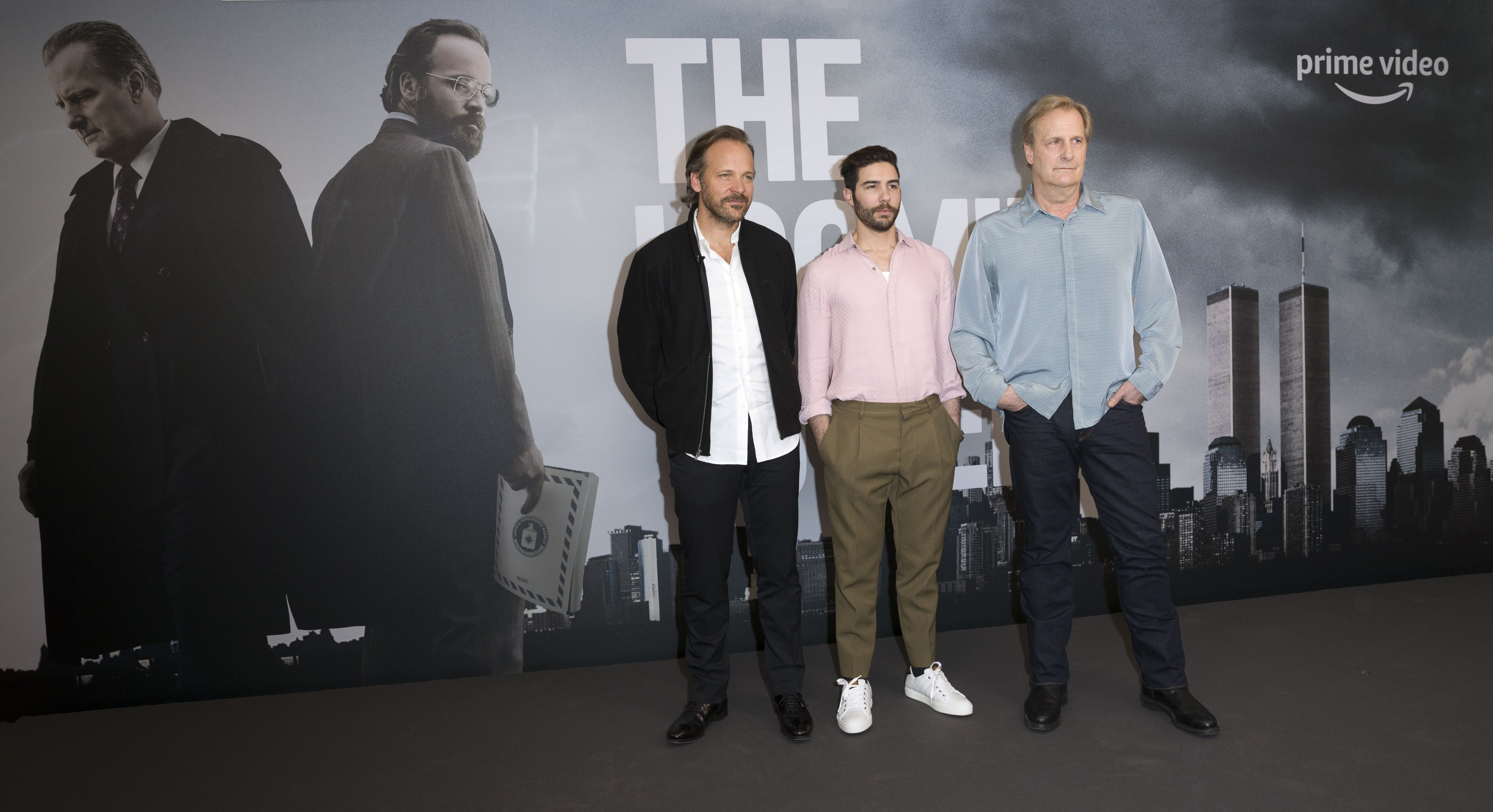 Peter Sarsgaard, Jeff Daniels, Tahir Rahim ....Photocall of the movie The Looming Tower at the 68th International Film Festival Berlinale, Berlin, Germany - 20 Feb 2018