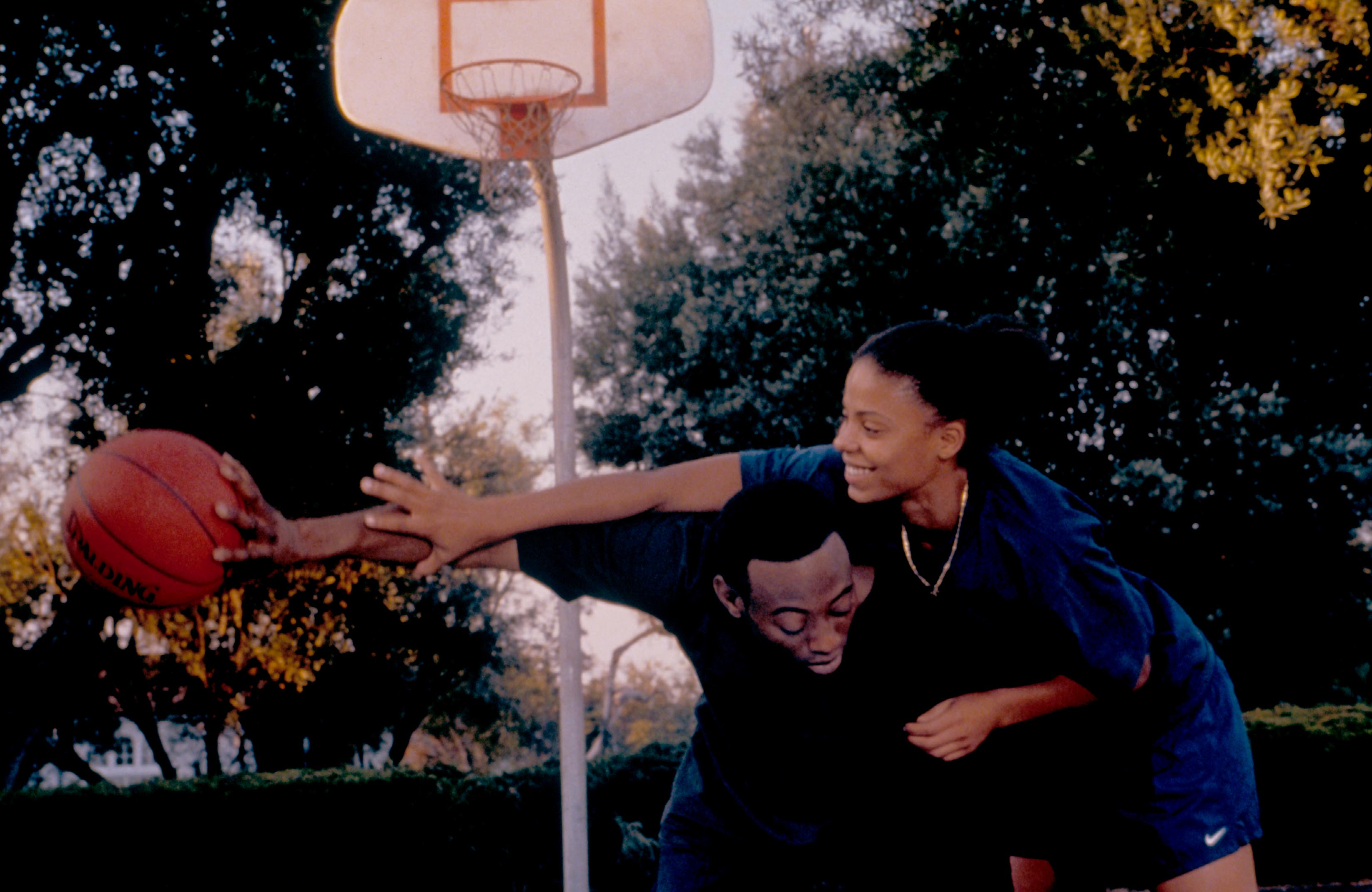 No Merchandising. Editorial Use Only. No Book Cover Usage.Mandatory Credit: Photo by Moviestore/REX/Shutterstock (1583067a) Love And Basketball, Omar Epps, Sanaa Lathan Film and Television