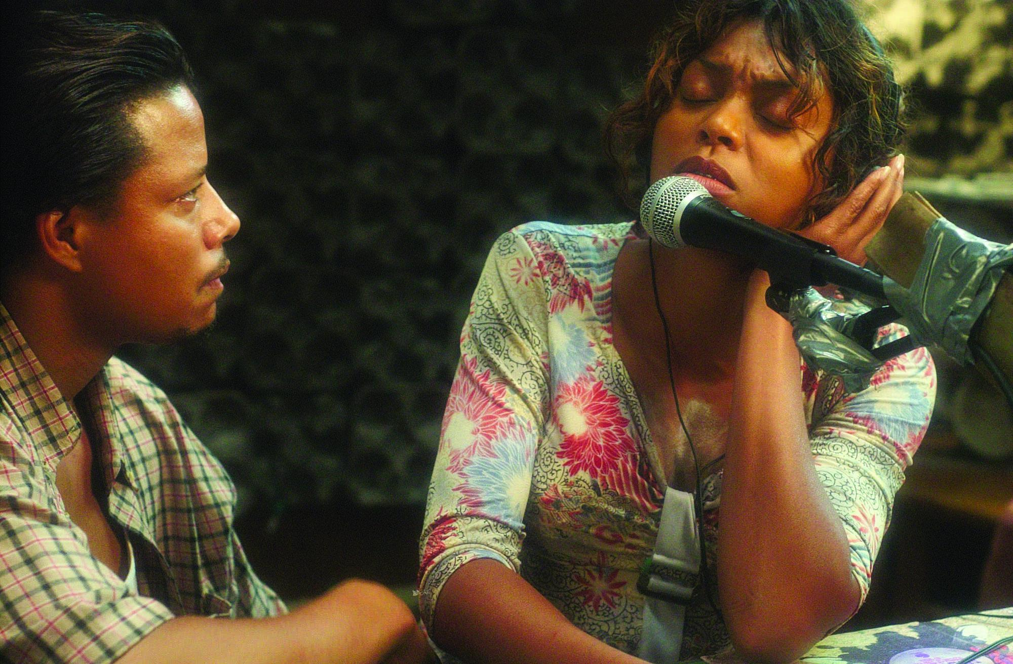 No Merchandising. Editorial Use Only. No Book Cover UsageMandatory Credit: Photo by Snap Stills/REX/Shutterstock (1991366v) Hustle and Flow - Terrence Howard and Taraji P. Henson. Hustle and Flow - 2005