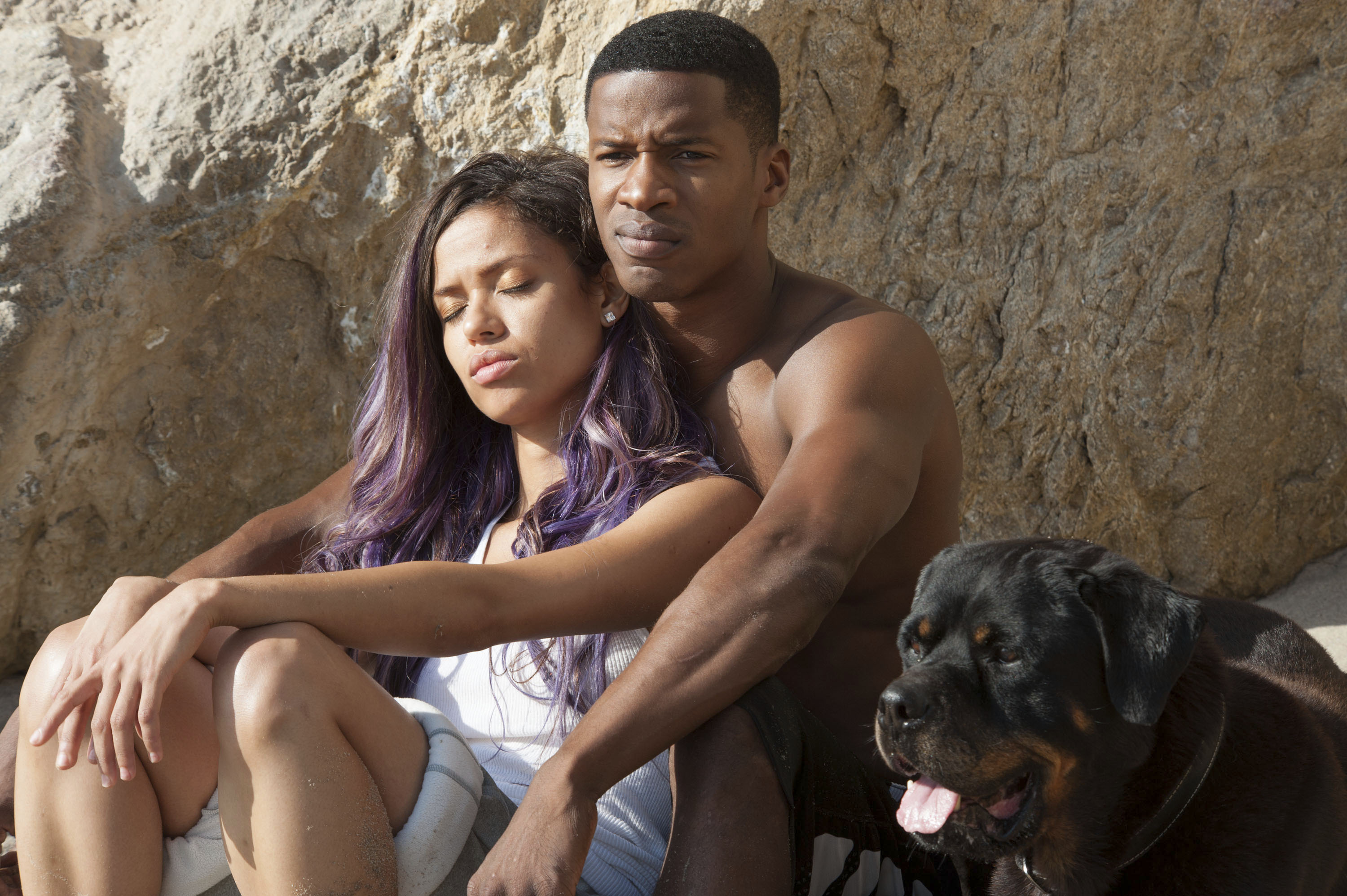 No Merchandising. Editorial Use Only. No Book Cover Usage.Mandatory Credit: Photo by Suzanne Tenner/Relativity Media/Kobal/REX/Shutterstock (5882431j) Gugu Mbatha-Raw, Nate Parker Beyond The Lights - 2014 Director: Gina Prince-Bythewood Relativity Media USA Scene Still Drama