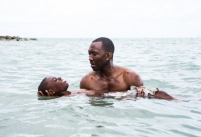 No Merchandising. Editorial Use Only. No Book Cover UsageMandatory Credit: Photo by David Bornfriend/Kobal/REX/Shutterstock (7734188a)Alex R. Hibbert, Mahershala Ali'Moonlight' Film - 2016