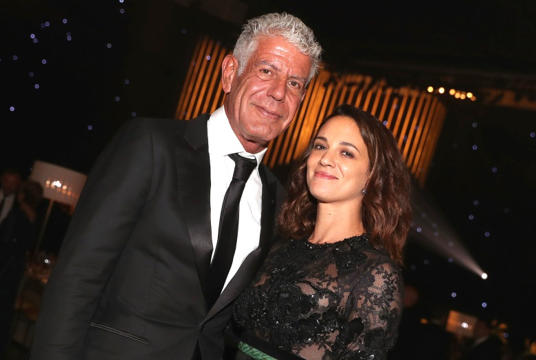 Anthony Bourdain and Asia ArgentoCreative Arts Emmy Awards, Governors Ball, Los Angeles, USA - 09 Sep 2017