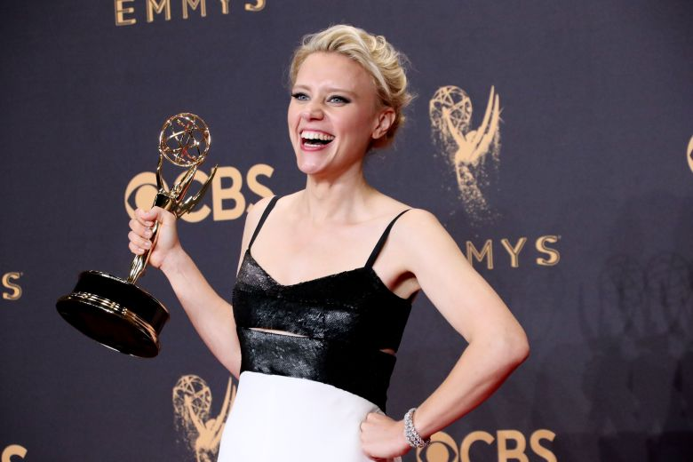 Kate McKinnon - Outstanding Supporting Actress in a Comedy Series - SNL69th Primetime Emmy Awards, Press Room, Los Angeles, USA - 17 Sep 2017