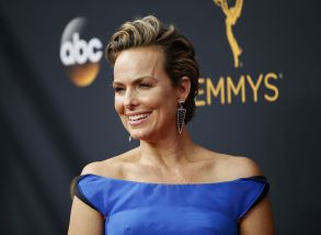 Melora Hardin arrives at the 68th Primetime Emmy Awards, at the Microsoft Theater in Los Angeles68th Primetime Emmy Awards - Arrivals, Los Angeles, USA - 18 Sep 2016