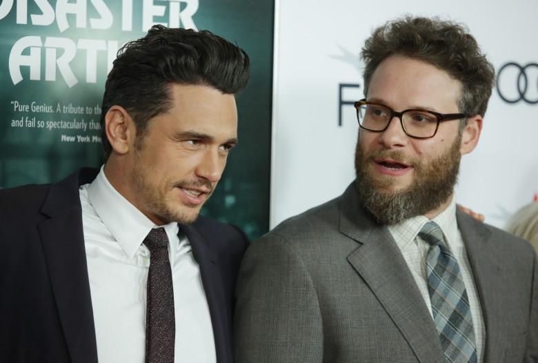 James Franco and Seth Rogen'The Disaster Artist' Centerpiece Gala, Arrivals, AFI Fest, Los Angeles, USA - 12 Nov 2017