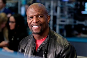 Actor Terry Crews is interviewed on Cheddar, on the floor of the New York Stock ExchangeTerry Crews, New York, USA - 10 Apr 2018