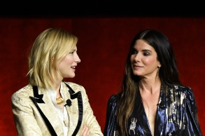 Cate Blanchett and Sandra BullockWarner Bros. Pictures 'The Big Picture' presentation, CinemaCon, Las Vegas, USA - 24 Apr 2018
