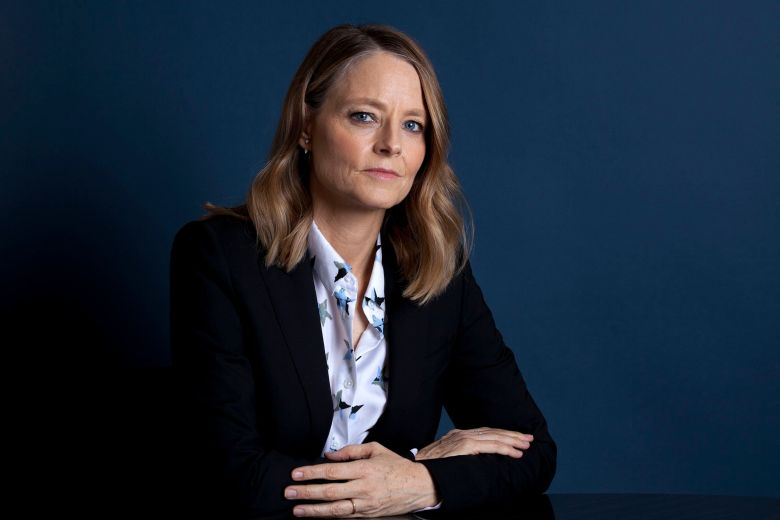"""Actress Jodie Foster poses at the Four Seasons Hotel in Los Angeles to promote her new film """"Hotel Artemis."""" Foster stars as the head of a hospital for criminals in the near-future set thriller opening nationwide on Friday, June 8""""Hotel Artemis"""" Portrait Session, Los Angeles, USA - 20 May 2018"""