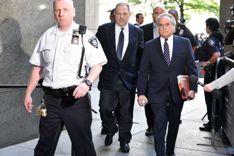 Harvey Weinstein and Benjamin BrafmanHarvey Weinstein at New York Supreme Court, USA - 05 Jun 2018