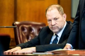 Former movie producer Harvey Weinstein listens during an arraignment hearing at a State Supreme Courtroom where he plead not guilty on two counts of rape in New York, New York, USA, 05 June 2018. Weinstein was arrested and charged last month with three felonies - first-degree rape, third-degree rape, and a criminal sexual act in the first degree.Harvey Weinstein on rape trial, New York, USA - 05 Jun 2018