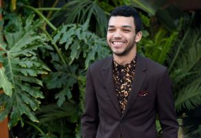 "Justice Smith arrives at the Los Angeles premiere of ""Jurassic World: Fallen Kingdom"" at the Walt Disney Concert Hall onLA Premiere of ""Jurassic World: Fallen Kingdom"", Los Angeles, USA - 12 Jun 2018"