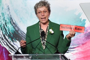 Frances McDormand and Cathy SchulmanWomen In Film Crystal and Lucy Awards, Show, Los Angeles, USA - 13 Jun 2018