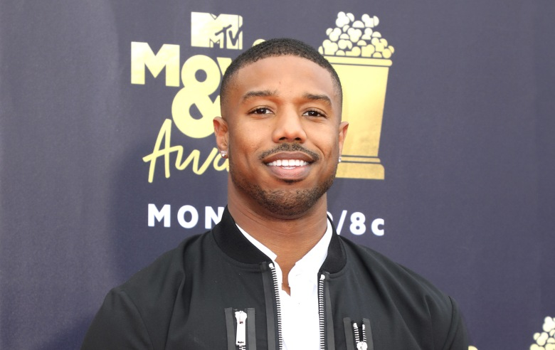 Michael B. JordanMTV Movie & TV Awards, Arrivals, Los Angeles, USA - 16 Jun 2018
