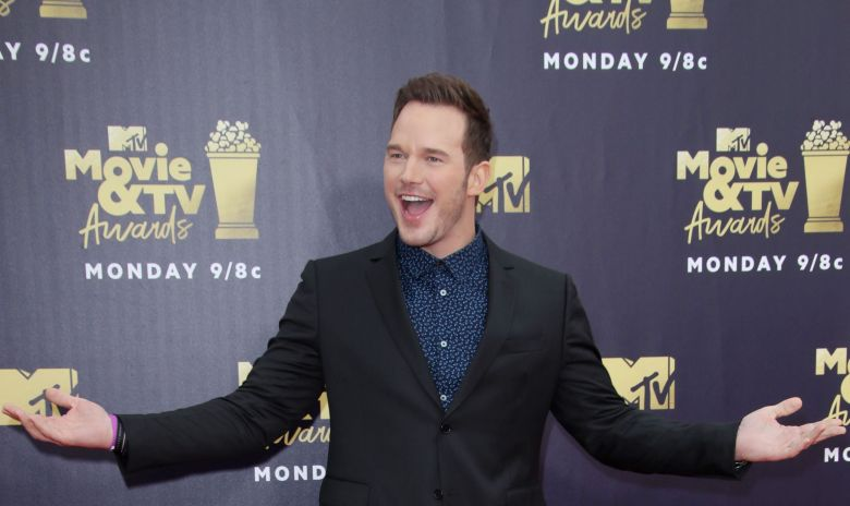 Chris PrattMTV Movie & TV Awards, Los Angeles, USA - 16 Jun 2018